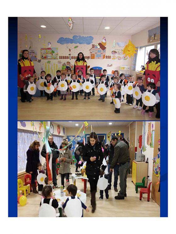 Carnaval na escola infantil de Becerrea