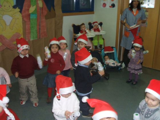 FESTIVAL DE NAVIDAD EN LA ESCUELA INFANTIL MUNICIPAL DE CELANOVA