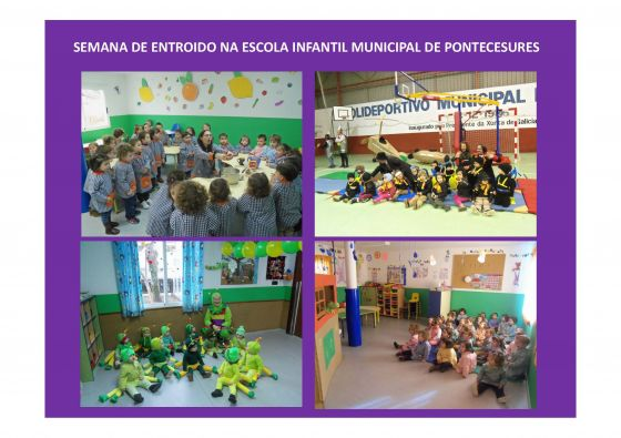Semana do Entroido na escola infantil de Pontecesures
