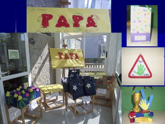 O día do pai na escola infantil de Pontecesures