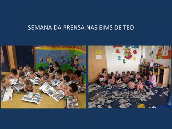 Semana da prensa nas EIMs de Teo.